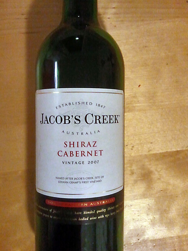Jacob´s Creek – Shiraz Cabernet 2007